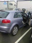Audi A3 Cigarette Burn Repair To Suede To Drivers Seat 1