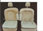 Rolls Royce Silver Shadow Seat Refurbishment 1 Before