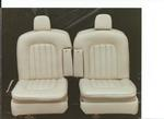 Rolls Royce Silver Shadow Seat Refurbishment 2 After